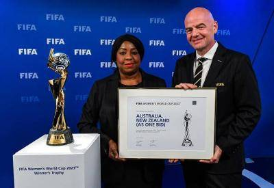 Australia and New Zealand Confirmed as 2023 Women's World Cup Hosts