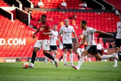 Martial Nets Hattrick as Manchester United Overcome Sheffield