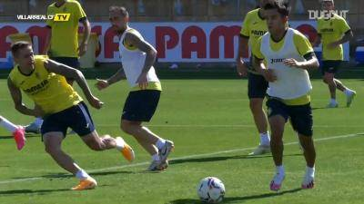 Fancy footwork! Kubo shows his quality in Villarreal training