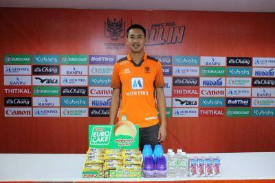 Ratchaburi Sign Sarawut Kanlayanabandit from Samut Prakan City