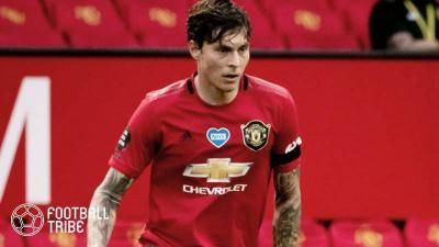 Man United defender Lindelof uses his tackling skill to catch a thief