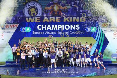 Quang Hai's Late Winner Powers Hanoi FC to Second Consecutive Cup Glory
