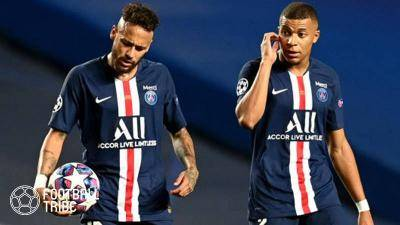 Neymar Jr and Kylian Mbappé in UEFA's Top 10 Players of the Year