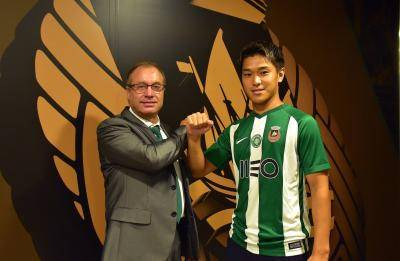 Man City's Japanese international sent on-loan to Primeira Liga's Rio Ave FC
