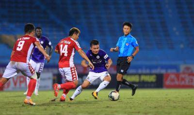 Two Second Half Goals and A Controversial Penalty Left HCMC Yet to Solve Hanoi Conundrum