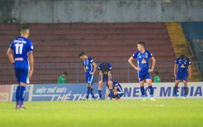 2017 V.League 1 Champions Quang Nam Go Down on Goal Difference