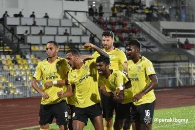 Leandro's Hat-Trick Sends Perak to Malaysia Cup Quarterfinal