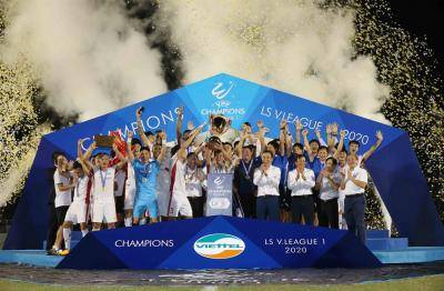Viettel Revives the The Cong Spirit by Winning 2020 V.League 1 Title