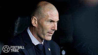 Real Madrid boss Zinedine Zidane in secret PSG talks