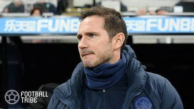 Lampard has fans at Selhurst Park rooting for him to be new manager