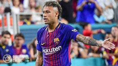 Neymar's confirmed returning to Barcelona to share the pitch with old buddy Lionel Messi!
