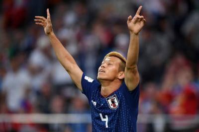 Japan Football Great Honda Joins Neftchi Baku