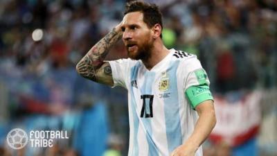Lionel Messi survives horrifying career-ending tackle in Argentina's 3-1 win over Venezuela
