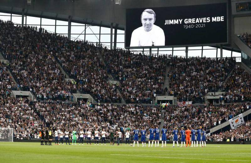 Chelsea, Spurs, West Ham Lead the Way as Football Pay Tribute to Jimmy Greaves