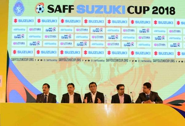 2018 SAFF Championship draw concluded, India in Group B with Sri Lanka and Maldives