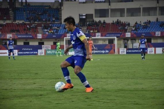 Sunil Chhetri hattrick sends Bengaluru FC to Hero Super Cup semi-final