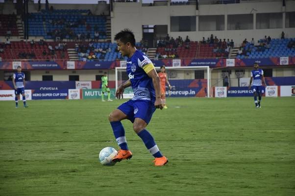 Sunil Chhetri hattrick sends Bengaluru FC to Hero Super Cup semi-final