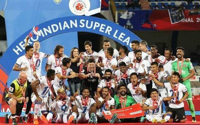 Mailson Alves double header hands Chennaiyin FC 2018 ISL title
