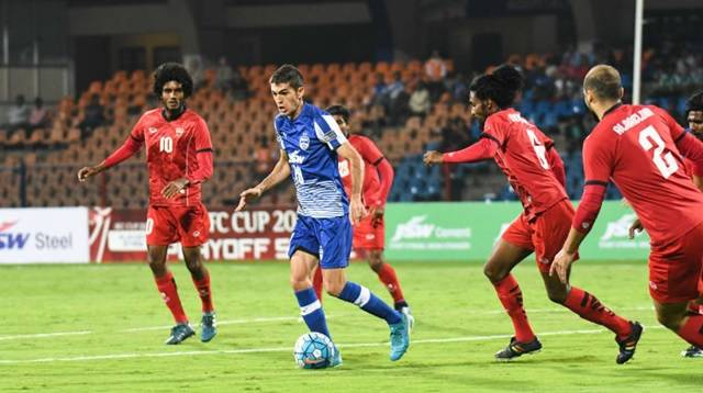 Bengaluru FC storms into AFC Cup group stages thrashing TS Sports Club Maldives 5-0
