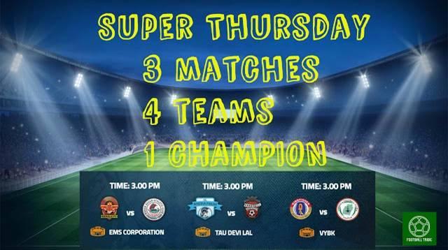 Super Thursday awaits Indian Football, as four teams chase I-League glory