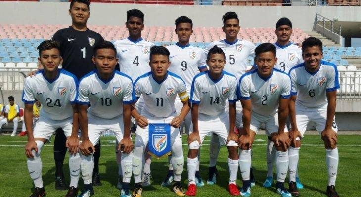 Four-nation International Tournament: India(U-16) beat Jordan(U-16) 2-1 in the opening game