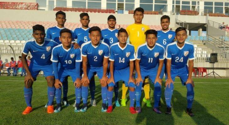 Indian U-16 boys held hosts Serbia to a goalless in the Four-Nation Tournament