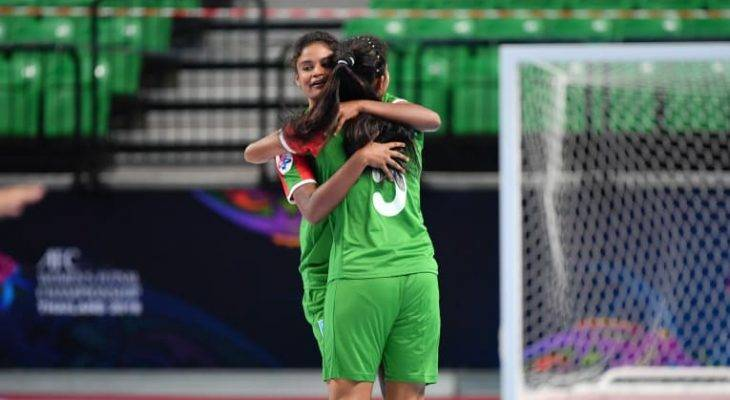 AFC Women's Futsal Championship:Bangladesh girls are beaten but not broken