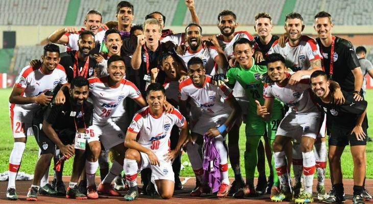 AFC CUP: Bengaluru FC clinched the Inter-Zone Semi-Final qualification ticket with a 4-0 win over Aabahani Limited Dhaka