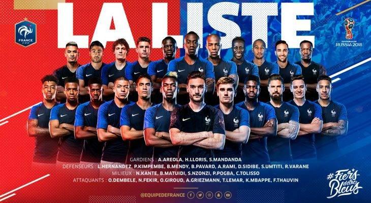 Les Bleus' Squad Is Magnifique !! But 11 Big Are Names Missing Out