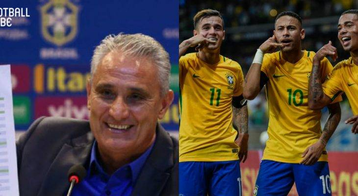 BRAZIL have announced their 23-man squad for the World Cup Russia 2018