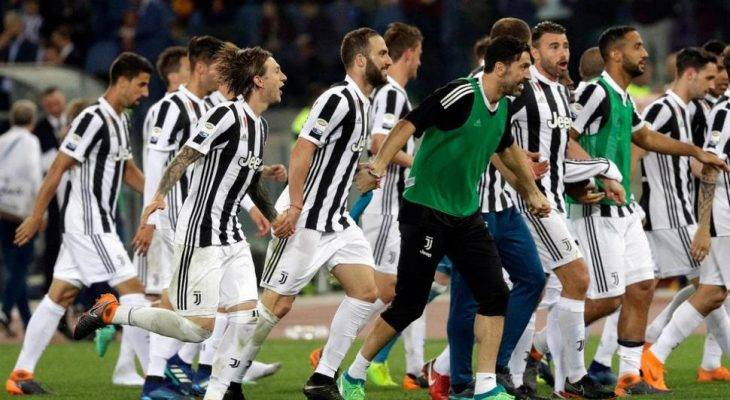 Juventus Win Seventh Successive Serie A Title after its 0-0 draw against 10-man Roma
