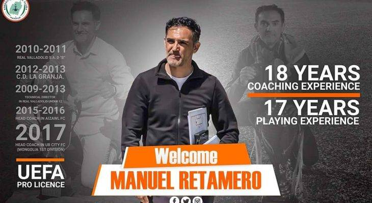 NEROCA FC Announced Spaniard Manuel Retamero Fraile as their new head coach for the 2018-19 season