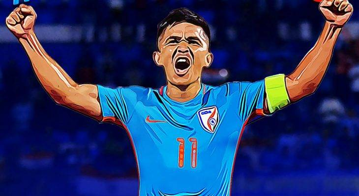 Sunil Chhetri doubles gives India 3-0 win over Kenya in his 100th International match