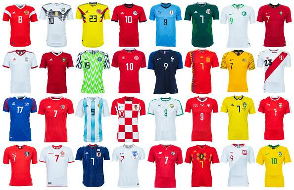 Review of The Top10 2018 FIFA World Cup Kits :Tweet us your favourite at @FTribeIND