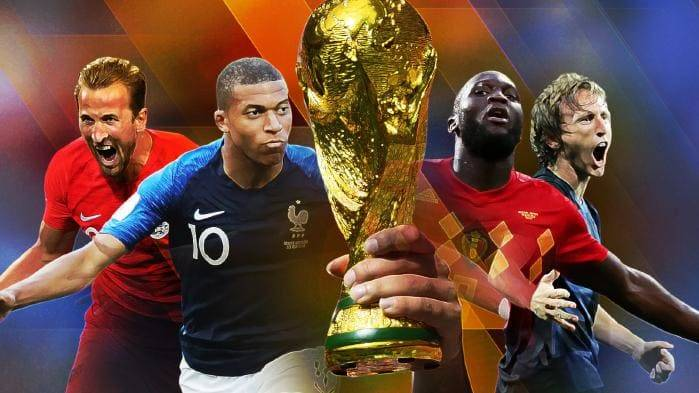 World Cup Semi-Final: France, Belgium, England, Croatia chasing World Cup trophy in Russia