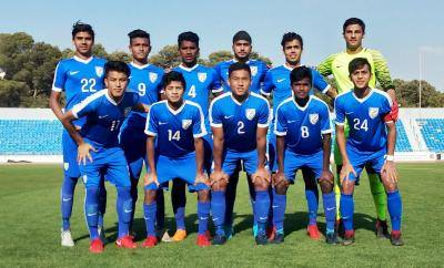 India U-16 National Team beats  Yemen 3-0 in the five-nation WAFF U-16 Championship in Amman