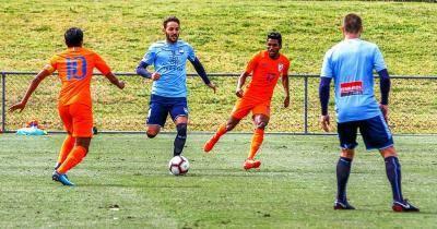 India's U-23 football Team Go Down Fighting Against Sydney FC