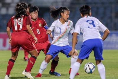 INDIA UPSET THAILAND 1-0 IN AFC U-19 WOMEN'S CHAMPIONSHIP QUALIFIERS