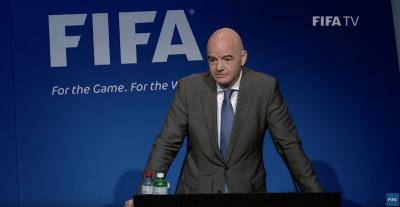 Infantino warns he will ban players from World Cup who play in Super League breakaway