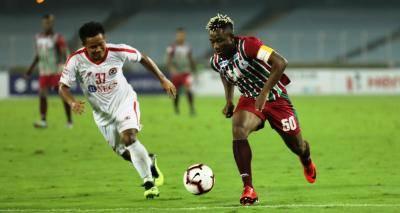 David Lalrinmuana's late free-kick to deny Mohun Bagan 3 points in Kolkata