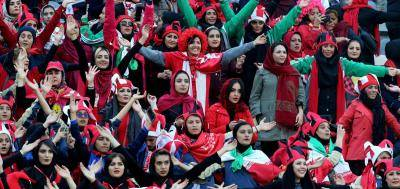 Football World celebrates the presence of 1000 female fans in the Azadi Stadium for the 2018 AFC Champions League final on Saturday