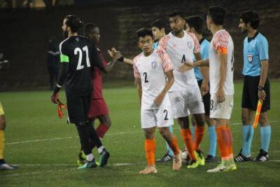 INDIA U-23 SUFFER NARROW LOSS TO QATAR