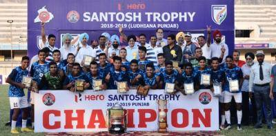 BIKASH THAPA STRIKES TO HAND SERVICES THEIR SIXTH HERO SANTOSH TROPHY TITLE