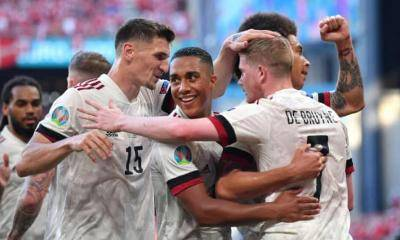 De Bruyne and Thorgan Hazard inspire Belgium comeback as they beat Denmark 2-1