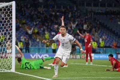 Euro 2020: Italy beat Turkey 3-0 in Tournament Opener