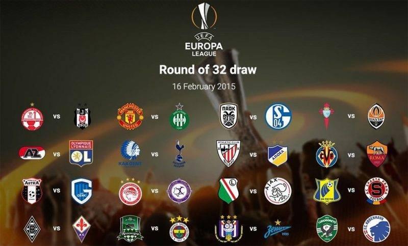 Drawing 32 Besar Liga Eropa