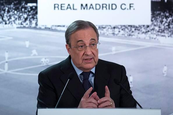 Florentino Perez, Presiden klub Real Madrid.