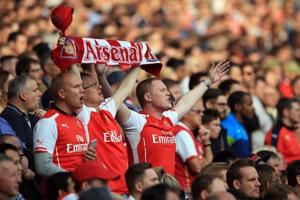 Fans Arsenal, bentuk cinta tanpa syarat.
