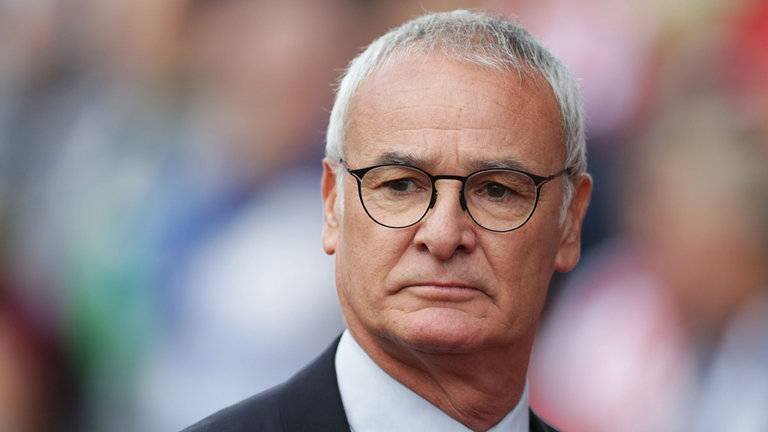 Claudio Ranieri, manajer Leicester City.