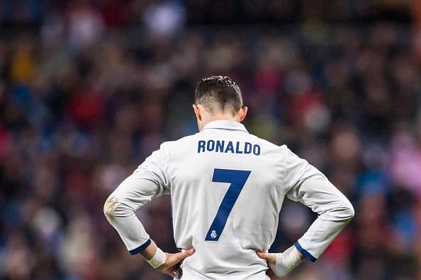 Cristiano Ronaldo, pemain Real Madrid.